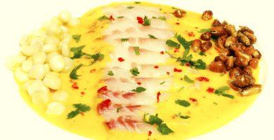 receta de tiradito de pescado peruano