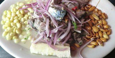 receta de ceviche de caballa piurano