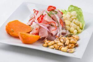 receta de ceviche de pescado, ceviche de pescado peruano