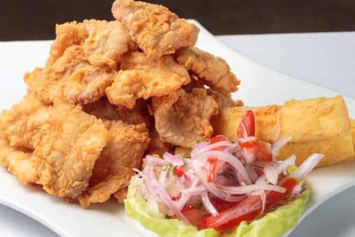 receta de chicharron de pescado