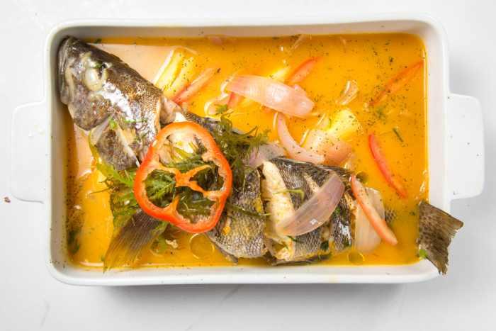 receta de sudado de pescado